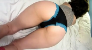 Blue Lace Panties Twerk